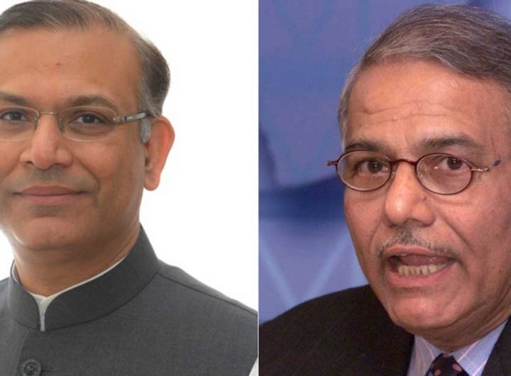 jayant and yashwant sinha